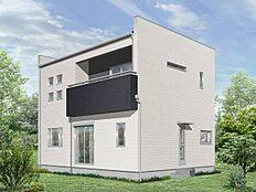 建物プラン施工例(2階建て参考イメージパース)