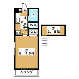 メイトリックスI[1階]の間取り