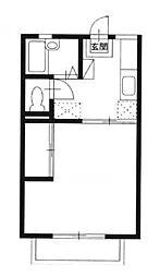 ラ・エスペランサ 205号室[205号室]の間取り