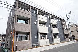 兵庫県宝塚市旭町2丁目の賃貸アパートの外観