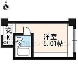 ANTEROOM KYOTO[428号室]の間取り