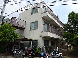 東京都足立区中川5丁目の賃貸マンションの外観