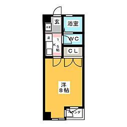 レジデンス  TAKAMADO[3階]の間取り