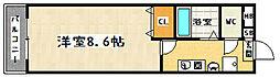 フロラシオン[305号室]の間取り