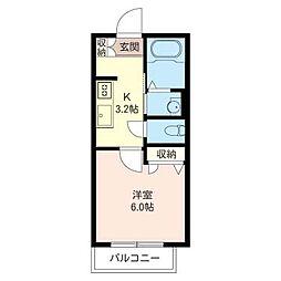 仮)練馬区石神井町7丁目プロヌーブ[2階]の間取り