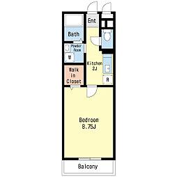 第3エーデルハイム[2階]の間取り