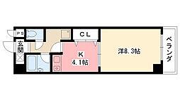 AUBE918[3階]の間取り
