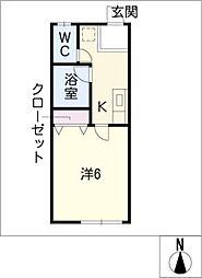 アイリーハイツ富士[2階]の間取り