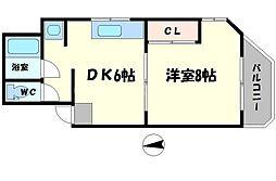 友田マンション[3階]の間取り