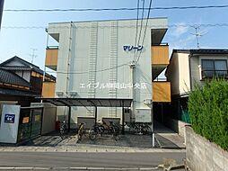 岡山県岡山市北区北方4丁目の賃貸マンションの外観