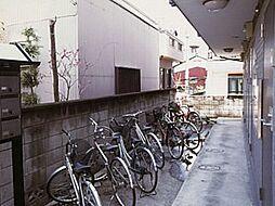レオパレスシャルマン北越谷II[1階]の外観
