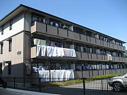 神奈川県横浜市緑区森の台の賃貸アパートの外観