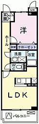 サニーヒル天王[3階]の間取り