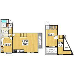 Palazzodiprimaclasse[3階]の間取り