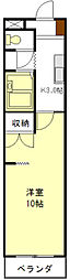 KURIMAマンション[1階]の間取り