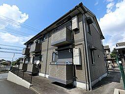 千葉県市原市山田橋の賃貸アパートの外観