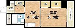 スタジオ64[5階]の間取り
