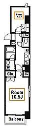 アヴェニール月島[2階]の間取り