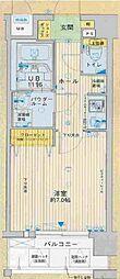 クレアート新大阪パンループ[9階]の間取り