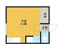 ラピュタ文京台[2階]の間取り