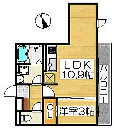SERENA(セレーナ)[3階]の間取り