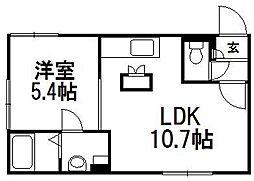 ひばりが丘駅 5.4万円