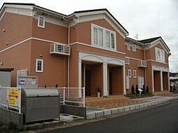 兵庫県豊岡市正法寺の賃貸アパートの外観