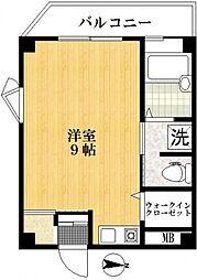 ラーナ瑞江[3階]の間取り