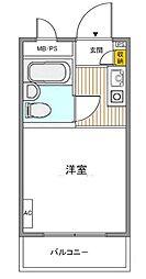 TOP南大塚第2[5階]の間取り