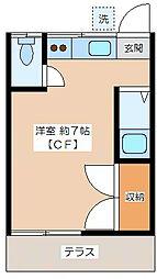 代田ハウス[102号室]の間取り