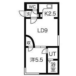LIMONE〜リモーネ〜[1階]の間取り