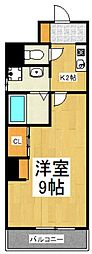 SOHJU[3階]の間取り