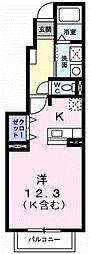 セトルハウス[1階]の間取り