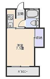 ハイツ9[2階]の間取り