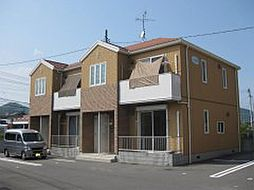 岡山県玉野市迫間の賃貸アパートの外観