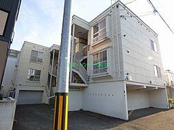 北海道札幌市東区北十八条東18丁目の賃貸アパートの外観