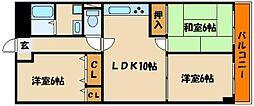 西明石シティハイツI[1階]の間取り