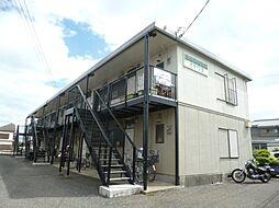 東京都西多摩郡瑞穂町大字殿ケ谷の賃貸アパートの外観