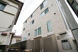 東京都品川区西五反田4丁目の賃貸アパートの外観