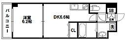 WillDo 十三東1st[8階]の間取り