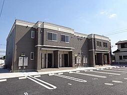 鹿児島県姶良市加治木町錦江町の賃貸アパートの外観