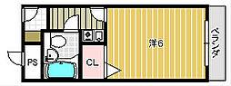 メゾン春日[2階]の間取り