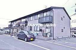 岡山県岡山市中区中井3丁目の賃貸アパートの外観