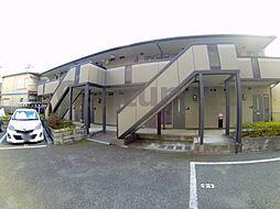大阪府池田市綾羽2丁目の賃貸アパートの外観