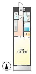 VERDINO内田橋[6階]の間取り