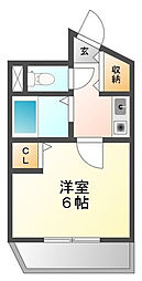 NKストーンハウス[5階]の間取り