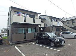 静岡県静岡市葵区上足洗2丁目の賃貸アパートの外観