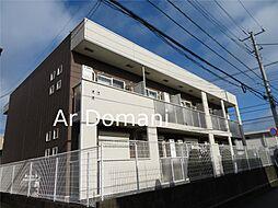 千葉県松戸市中根長津町の賃貸アパートの外観