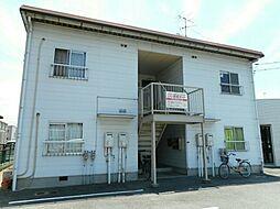 広島県福山市春日町5の賃貸アパートの外観