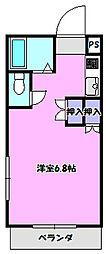 バディマンション新守谷[3C号室]の間取り